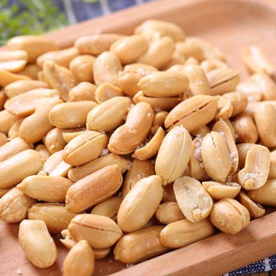 roasted and salted peanut